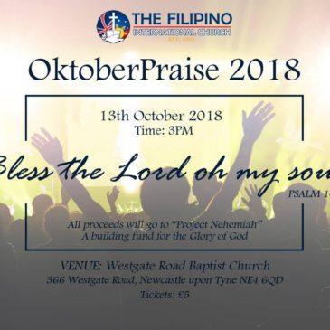 TFIC Oktober Praise 2018