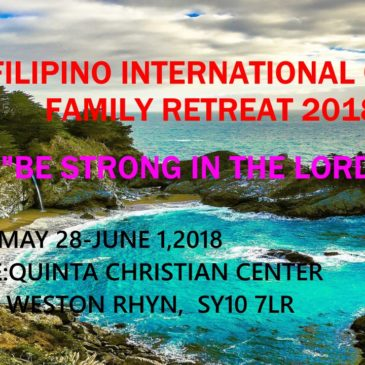 TFIC FAMILY RETREAT 2018!