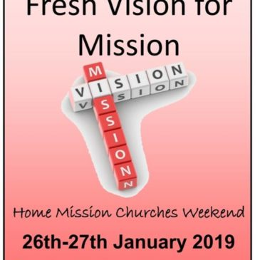 FRESH VISION FOR MISSION 2019