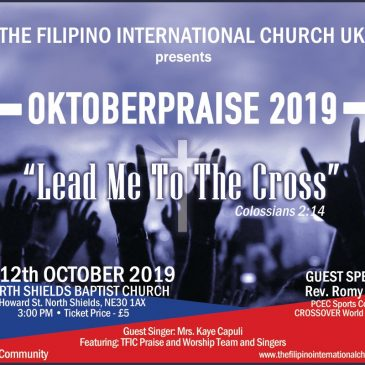 "October Praise 2019 ""Lead Me To The Cross"""