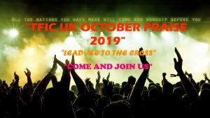 OCTOBER PRAISE 2019 @ NORTH SHIELDS BAPTIST CHURCH