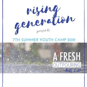 RG SUMMER YOUTH CAMP 2019
