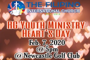 RG YOUTH MINISTRY HEART'S DAY @ NEWCASTLE UNITED GOLF CLUB