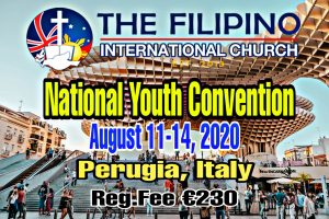 NATIONAL YOUTH CONVENTION (NYC) ITALY 2020 @ PERUGIA ,ITALY