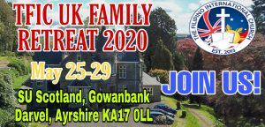 TFIC UK FAMILY RETREAT 2020 @ SU GOWANBANK SCOTLAND