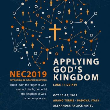 (NEC 2019) NETWORKING OF EUROPEAN CHRISTIANS  PADOVA ,ITALY
