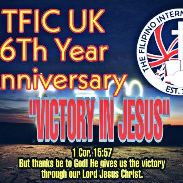 TFIC UK 6TH YEAR ANNIVERSARY